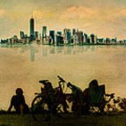 A Staten Island Fantasy Art Print