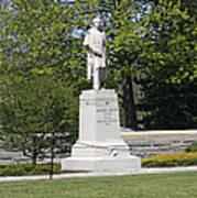 A Statue Of Colonel Thayer Art Print