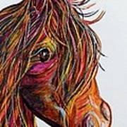 A Stick Horse Named Amber Art Print