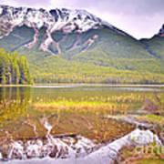 A Still Day At Buck Lake Art Print