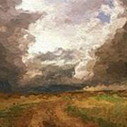 A Stormy Day Art Print