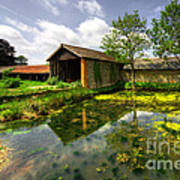 a Suffolk Barn Art Print