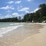 A Sunny Day On Nai Yang Beach Phuket Island Thailand Art Print