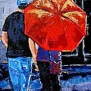 A Sunny Monet Art Print