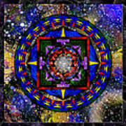 A Surrealistic Mandala Art Print