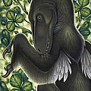 A Suspicious Deinonychus Antirrhopus Art Print