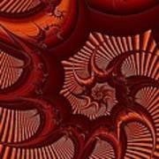 A Thorny Swirl Art Print