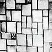 A Tiled Wall Art Print