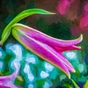 A Touch Of Class 2 - Impasto Art Print