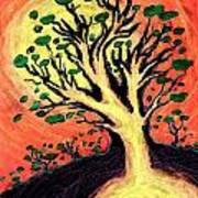A Tree Is Born Art Print by David Condry