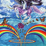 A Unicorn's Love Art Print