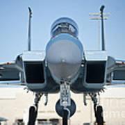 A U.s. Air Force F-15d Eagle Taxis Art Print