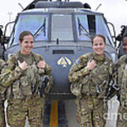 A U.s. Army All Female Crew Art Print