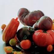 A Variety Of Vegetables Art Print