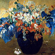 A Vase Of Flowers Art Print