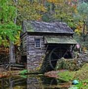 A Very Old Grist Mill Art Print
