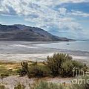 A View From Buffalo Point Of White Rock Bay Art Print