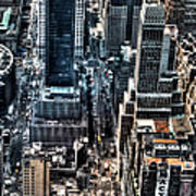 A View From The Empire State Building Art Print