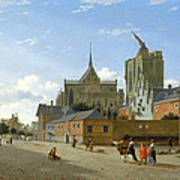 A View In Cologne Art Print