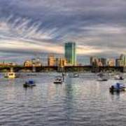 A View Of Back Bay - Boston Skyline Art Print