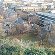 A View Of Nottingham Art Print