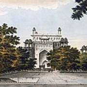 A View Of Part Of The Tomb Art Print