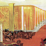 A View Of The Luxurious And Spacious Art Print