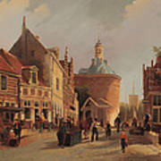 A View Of The Zuiderspui Art Print