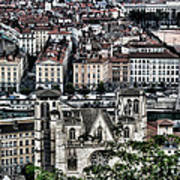 A View Of Vienne France Art Print