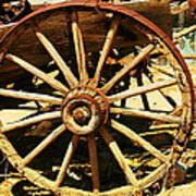 A Wagon Wheel Art Print