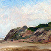 A Walk Down Cahoon Hollow Beach Art Print