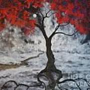A Walk In The Twilight Art Print