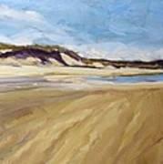 A Walk On The Beach Art Print