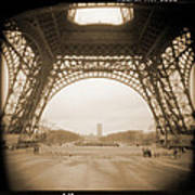 A Walk Through Paris 14 Art Print by Mike McGlothlen