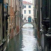 A Waterway Of Venice  Art Print