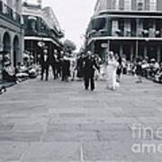 A Wedding In Jackson Square Art Print