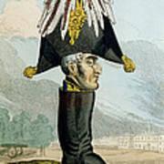 A Wellington Boot Or The Head Art Print