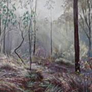 A Wickham Misty Morning Art Print