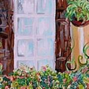 A Window View Art Print