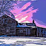A Winter Dream 2 Art Print