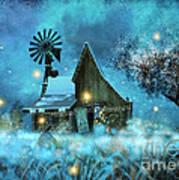 A Winter Fairytale Art Print