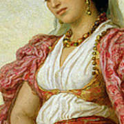 A Woman From Algiers Art Print