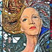 A Work In Progress Art Print by Phyllis Dunn
