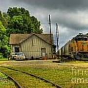 A Workhorse At The Madison Station Art Print