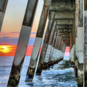 A Wrightsville Beach Morning Art Print by JC Findley