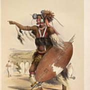 A Zulu Art Print