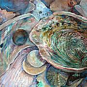 Abalone Grouping Art Print