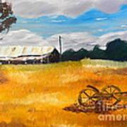 Abandon Farm Art Print