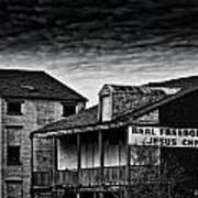 Abandone Buildings 1 Art Print