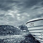 Abandoned Boat Art Print